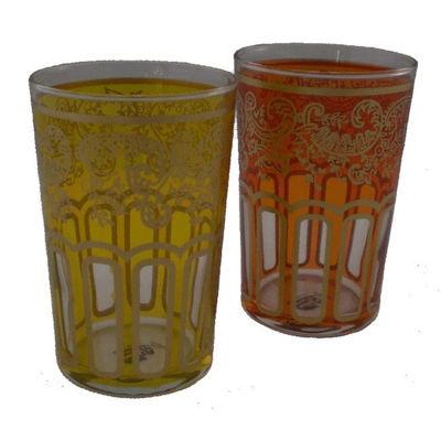 Afbeeldingen van Marokkaanse glazen (2 stuks)