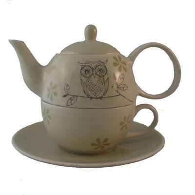 Afbeeldingen van Tea- for-one 'Uil'