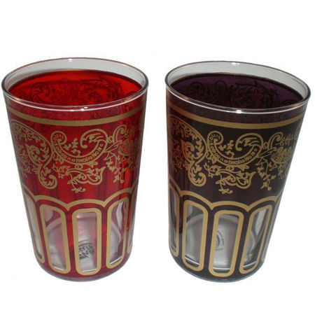 Afbeelding van Marokkaanse glazen (2 stuks)