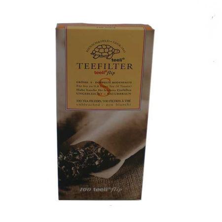 Afbeelding van Theefilter - kleine tas (100 stuks)