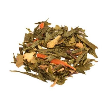 Afbeelding van Groene thee-Gember-Citroen