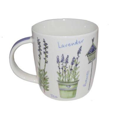 Afbeeldingen van Theetas Lavendel - groen