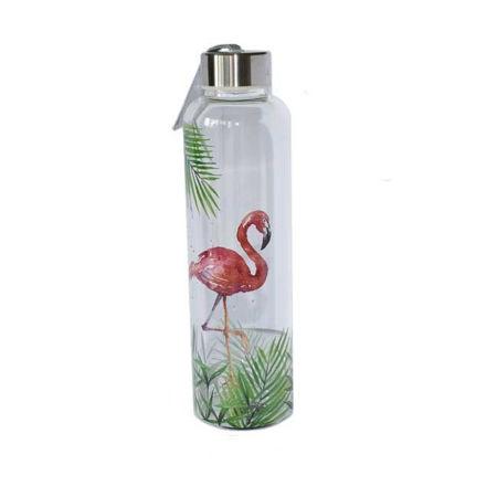 Afbeelding van Theefles - Flamingo