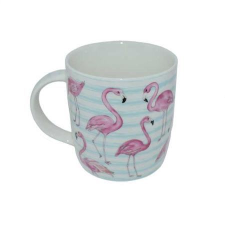 Afbeelding van Theetas Flamingo - Blauw