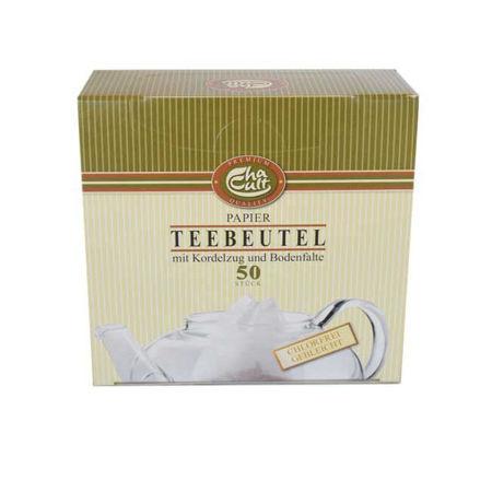 Afbeelding van Theefilter - kleine tas met touw