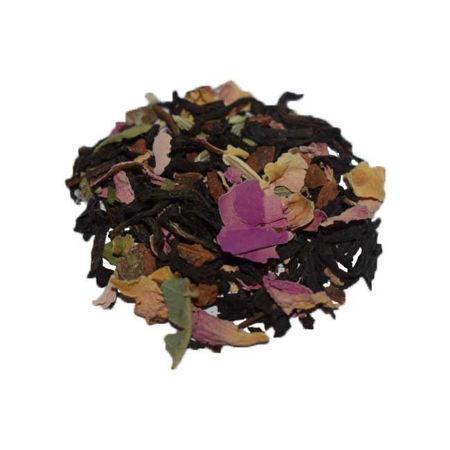 Afbeelding van Zwarte thee - rozenbloesem
