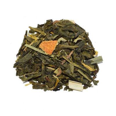 Afbeeldingen van Groene thee-Citroen