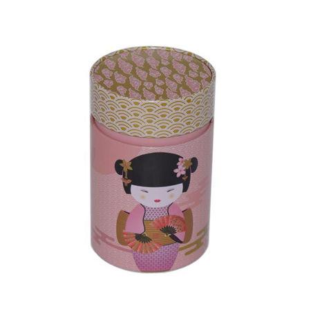 Afbeelding van Theeblik Little Geisha roze